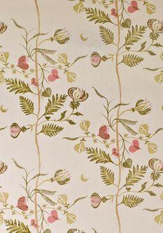 LEWIS & WOOD Floreat linen print