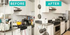 A Pro Organizer Completely Transformed My Tiny Kitchen    You'll definitely want to steal these tricks!