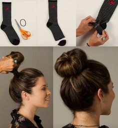 Drdol z ponožky: jednoduchý návod