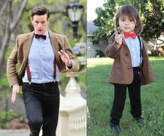 Adorable Girl Dresses Up As All 11 Doctors From 'Dr Who' For Halloween