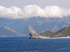 Corsica Golfe - Le golfe de Saint-Florent est un golfe de la mer Méditerranée qui se situe en Corse, autrefois appelé aussi le golfe de Sainte-Marie de Nebbio Corsica, Sainte Marie, France, Cap, Mountains, World, Nature, Photos, Travel
