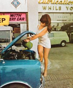 girlsandmachines: Mini, 1969. - '69