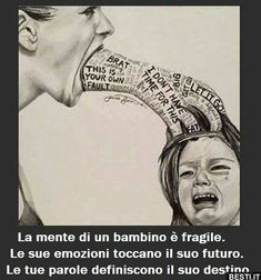 Stop child abuse! Verbal, emotional and psychological child abuse art - unknown artist Drawing Sketches, Art Drawings, Pencil Drawings, Drawing Ideas, Deep Art, Powerful Images, Powerful Art, Sad Art, Dark Art