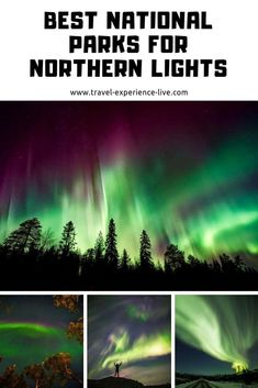 Where to See Northern Lights in the US - Top 5 National Parks for Aurora
