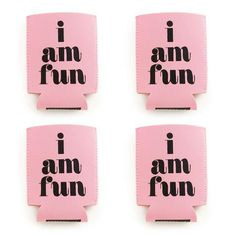 4 pack - too cold to hold drink sleeve - i am fun