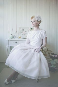 Bride Retro Dress#re
