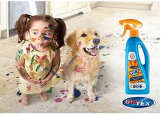 Little ones having fun and also creating a great big mess? Don't worry Britex can fix any mess!