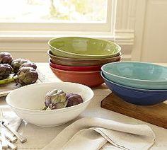 Gypsy Interior Design Dress My Wagon| Serafini Amelia| Travel Trailer- Design Inspiration| Serving Bowls, Soup Bowls & Salad Bowls | Pottery Barn
