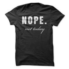 Are you tired being asked anything? Show people what your answer is, with this great shirt!