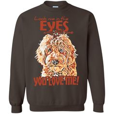Look Me In The Eyes - Gildan Crewneck Sweatshirt