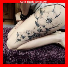 Cute Thigh Tattoos 04