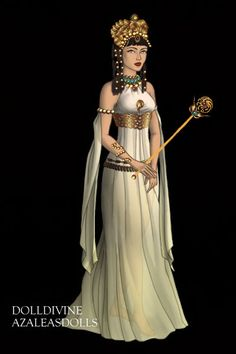 Cleopatra ~ by Trailblazr ~ created using the Game of Thrones doll maker | DollDivine.com