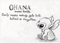 Ohana Means Family Quote Picture pics for lilo and stitch quotes this is my family best Ohana Means Family Quote. Here is Ohana Means Family Quote Picture for you. Ohana Means Family Quote stitch ohana means family quote blue greeting car. Best Family Quotes, Best Quotes, Family Sayings, Disney Quotes About Family, Tattoo Quotes About Family, Cute Family Quotes, Strong Family Quotes, Family Quote Tattoos, Cute Life Quotes
