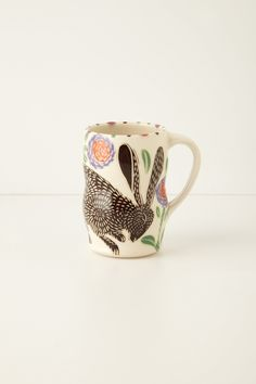 Leaping Hare Mug from Anthropologie - $50.00