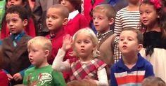 Amazing Little Girl Signs Christmas Concert For Deaf Parents via LittleThings.com