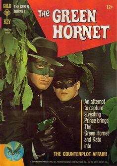 The Green Hornet (1966-67, ABC) starring Van Williams as The Green Hornet/Britt Reid & Bruce Lee as Kato
