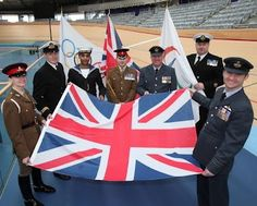 Royal Navy, Army & Royal Air Force personnel will raise the flags at the Team Welcome Ceremonies & Victory Ceremonies at the Games!