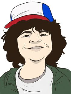 Stranger Things, Dustin. - By Glynrick