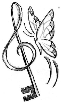 Muziek, sleutel tot mijn hart! #tattoo