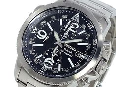 BEST QUALITY WATCHES - Seiko Mens Chronograph Solar SSC075P1, £199.99 (http://www.bestqualitywatches.co.uk/seiko-mens-chronograph-solar-ssc075p1/)