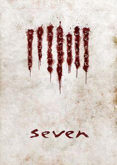 Seven Movie Poster v2 by TheMadmind, via Flickr ♥ http://f3mal3s.altervista.org