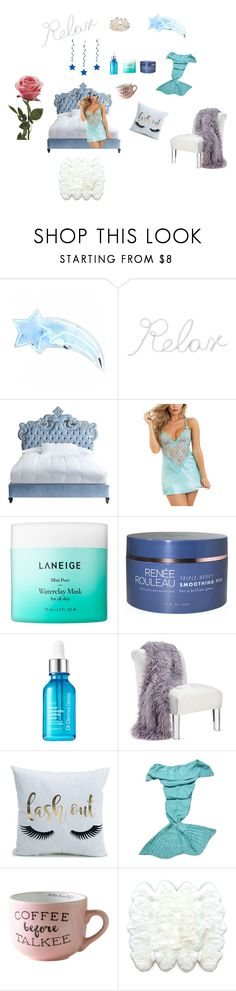 """relax"" by aredhel87 ❤ liked on Polyvore featuring PBteen, Haute House, Dreamgirl, Laneige, Hodges and Natural by Lifestyle Group"