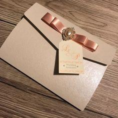 Pocketfold wedding invitation textured pocket by CanIDoUAFavour