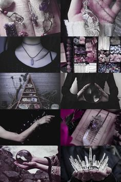 crystal witch aesthetic (more here)