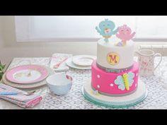 Tarta infantil de fondant - Receta - María Lunarillos | tienda & blog - YouTube