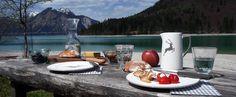 Picknick am See mit Gmundner Keramik (Foto wohlgeraten.de)