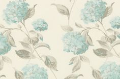 Hydrangea Duck Egg Roman Blinds | Laura Ashley