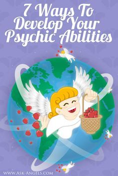 You have psychic abilities... Really! Even if it doesn't seem like it, you do...   And the cool thing is that psychic abilities can be developed!   Click here to learn 7 Ways to Develop Your Psychic Abilities now! >>   http://www.ask-angels.com/spiritual-guidance/develop-psychic-abilities/