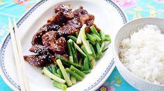 Kinesisk kylling med frisk salat