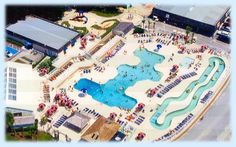 Our Pools: Indoor pool, outdoor pool, kiddie pool & lazy river