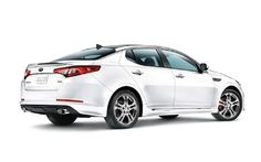 2012 Kia Optima Limited Rear Three Quarters Photo 4