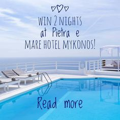 CONTEST ALERT... Win 2 nights at Mykonos! @pietraemaremykonos at Kalo Livadi Mykonos will offer to one of you 2 nights for two people breakfast included.  How to participate: 1. Like this post 2. Follow me @the_daily_traveller and Pietra e Mare @pietraemaremykonos 3. Tag a friend in the comments below to enter (each friend tagged is an additional entry) BONUS ENTRY: repost this photo and tag @the_daily_traveller & @pietraemaremykonos in it for an extra entry!  The contest is open worldwide…