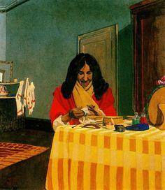 Felix Vallotton - Mme. Felix Vallotton (1899)