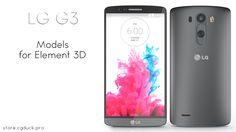 LG G3 for Video Copilot's Element 3D. Product Link: http://store.cgduck.pro/element-3d/lg-g3-e3d.html