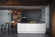 7 Latest Kitchen Design Ideas For Modern Ultimate Makeovers Latest Kitchen Designs, Modern Kitchen Design, New Kitchen, Kitchen Decor, Galley Kitchens, U Shaped Kitchen, Küchen Design, Design Ideas, Decoration