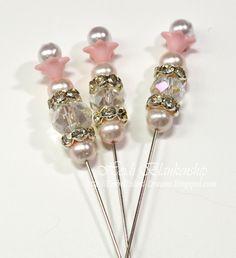 Embellished Dreams: Handmade Stick Pins