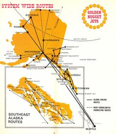 40 Best Historic Airline Route Maps images | Airplanes, Blue prints ...