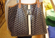 goyard monogram | ... Goyard I start thinking about having one of mine monogrammed