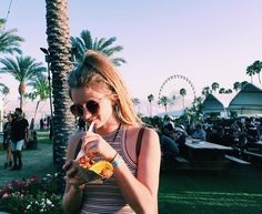 After the music there's always the food! Greer Inns at #Coachella2016. #garagefestival #iweargarage
