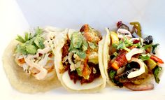 Today's Suggested Combo: (L – R) Camarones, Chilorio & Veggie Taco.  Try it for lunch today: 11A - 2P Von Karman Corporate Center (16815 Von Karman Ave, Irvine CA).  Join us!  More: http://www.sohotaco.com/2013/08/13/taco-tuesday-enjoy-our-chilorio-taco-for-lunch-today-in-irvine/  #taco #tacos #gourmettacos #food #nom #irvine #oc #orangecounty #foodie #tacotuesday #foodtruck #gourmetfoodtruck