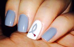 T1diabetes awareness , nail art