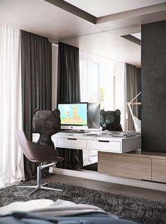 KID ROOM   BLACK OAK   MUSA STUDIO   Architecture and interior design. Tel: (+373)60-10-20-30   www.musa.md