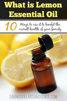 What is Lemon Essential Oil and how does it work?