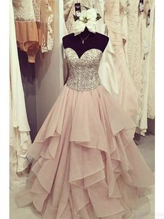 On Sale Luscious Lace Strapless Pink Ball Gowns Prom Dresses,Lace Up Prom Gowns,Quinceanera Dresses,Princess Prom Dresses For Teens,Evening Dresses Sequin Prom Dresses, Cute Prom Dresses, Prom Dresses For Teens, Elegant Prom Dresses, Beaded Prom Dress, Ball Gowns Prom, Quinceanera Dresses, Cheap Dresses, Pretty Dresses