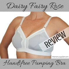 ba09e60a70f2b Dairy Fairy Handsfree Pumping Bra Review