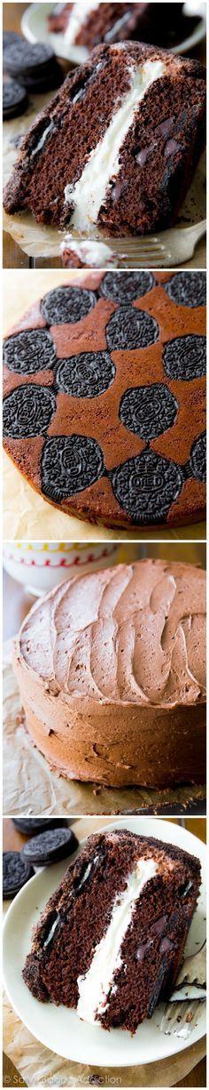 Oreo Cake. This layer cake is the ULTIMATE Oreo dessert.